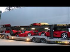 A lorry full of Ferraris: the world's greatest toy box? | Top Gear