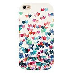 fargerik hjerte mønster tilbake tilfelle for iPhone 4 / Cheap Iphone 6 Cases, Art Phone Cases, Iphone 7 Plus Cases, Iphone 4s, Apple Iphone, Iphone 6 Back Cover, Cheap Iphones, Heart Patterns, Ipod Touch
