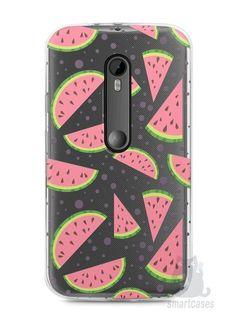 Capa Moto G3 Melancias e Bolinhas - SmartCases - Acessórios para celulares e tablets :)
