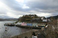Portree, Skye's largest settlement
