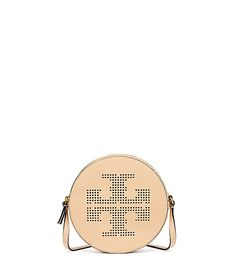 165eecef409 Tory Burch Sand Dune Perforated Logo Crossbody Bag Wallets For Women