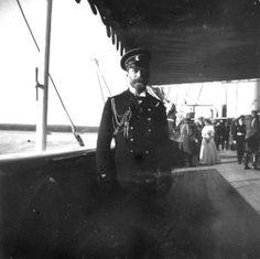 Nicholas II at the Standart
