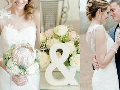 Dreamy Blush and Neutral South African Wedding - Louise Vorster Photography