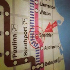 My old Chicago el stop