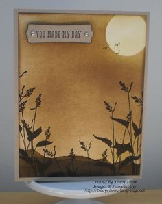 Create a wheat field look with World of Dreams (new for 2014) from Stampin' Up!.  http://tracyelsom.stampinup.net