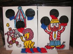 6 hole  circus  games with   12  bean bags by windsor48 on Etsy, $20.99
