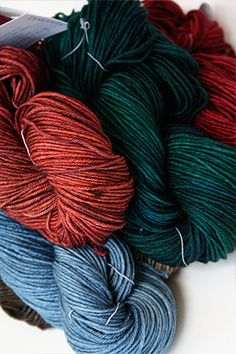 TOSH DK 4 ply yarn from madelinetosh