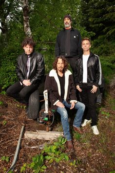 VISIONS MAGAZINE - Chris Cornell, Soundgarden and Audioslave #chriscornell #soundgarden #audioslave #grunge