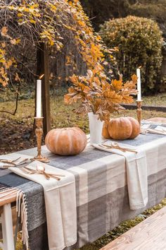 Beer Garden Table Makeover and Alfresco Thanksgiving