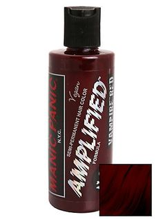 Manic Panic Amplified Semi-Permanent Vampire Red Hair Dye,