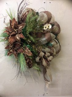 Woodland Owl Wreath