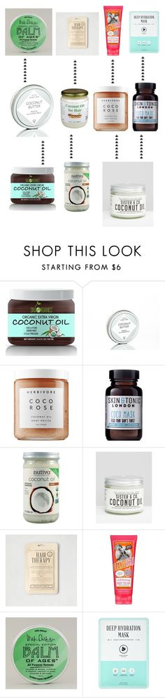"""""""Untitled #6"""" by shiptail ❤ liked on Polyvore featuring beauty, Herbivore, Skin & Tonic, American Eagle Outfitters, Forever 21, Beauty and twoways"""