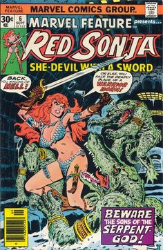 Cover Art by Buscema and Romita. The Mighty Thor Marvel Comics Group. March Crease at right corner of cover. Red Sonja, Marvel Comic Books, Comic Books Art, Comic Art, Book Art, Frankenstein, Wonder Woman Comic, Wonder Women, Conan The Barbarian