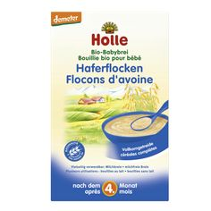 Holle Organic Oatmeal Porridge Giving your baby a balanced diet has never been easier with Holle's nourishing Organic Oatmeal Porridge. #babyformula