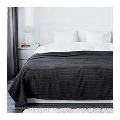 IKEA - TUSENSKÖNA, Bedspread, Queen/King, , Packaging designed as a storage bag. Easy to protect, transport and store the product.