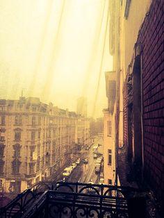 #Katowice, widok z okien na ulicę Słowackiego #townhouse #kamienice #slkamienice #silesia #śląsk #properties #investing #nieruchomości #mieszkania #flat #sprzedaz #wynajem Eastern Europe, Homeland, Times Square, Cities, Polish, Landscape, Sweet, Travel, Beautiful