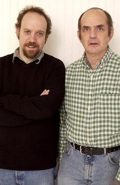 Paul Giamatti and Harvey Pekar in  American Splendor
