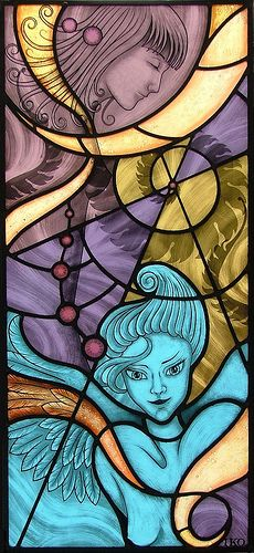 ANGELS AND SPIRALS | by vetrate_artisticheRM