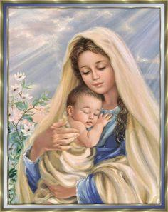 MARIA TE AMA E CONVIDA VOCÊ A SEGUIR JESUS!