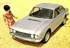 psychedelicway: Lancia 2000 coupé - 1971