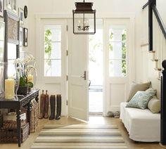 Door & lighting #entry #foyer