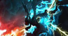Anime Pokemon  Pokémon Zekrom (Pokemon) Wallpaper