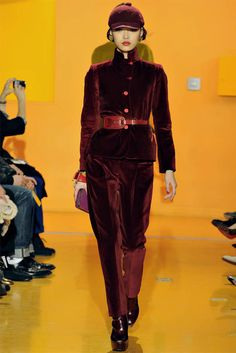 Red Velvet Suit + Kenzo 2012