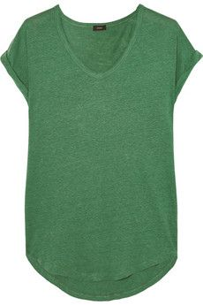 Joseph Slub linen-jersey T-shirt | THE OUTNET