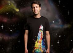 """""""Space Needs Color"""" - Threadless.com - Best t-shirts in the world"""