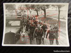 Militaria: Fotografía Batallon División Azul, segunda Guerra Mundial - Foto 1 - 83021084