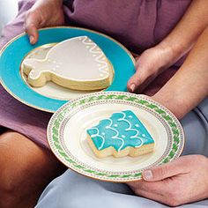 Iced Sugar Cookies - Our Easiest Shower Ever - Southernliving. Pick up a cookie assortment from a local bakery, or order them online. Icing on the Cookie, in Homewood, Alabama, specializes in custom occasion cookies