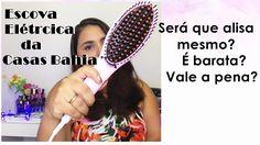 Resenha da Escova Alisadora da Casas Bahia + utilização e dicas. - YouTube
