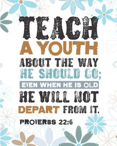 Amen! We have to show them how to serve The Lord!