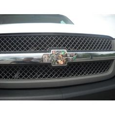 Pair of Chevy Bowties Vinyl Decal Wraps (2) Camo Color Covers for Chevy Truck Grill Emblem : Amazon.com : Automotive