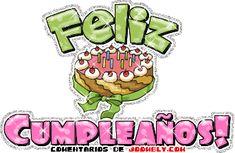Feliz Cumpleaños junto a delicioso pastel Humor, Words, Birthday, Fictional Characters, Pastel, Sweet, Google, Happy Name Day, Candy