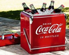 Coca Cola Retro Picnic Cooler