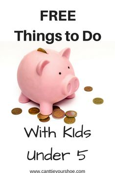Looking for things to do with children under 5 but don't was to spend a lot of money?  I share some of the great place to find FREE things to do with kids under 5.