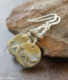 Mermaid Jewelry Gold and Silver Mermaids Sterling by JensFancy, $22.00