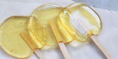 Lecca lecca al succo di arancia by Piccole Ricette