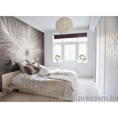 25 ideas for modern wallpaper for your apartment - New Decoration ideas Most Beautiful Wallpaper, Modern Wallpaper, Wallpaper Wedding, Piece A Vivre, White Decor, Modern Room, One Bedroom, Beautiful Bedrooms, Interiores Design