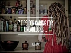 7 Tips for Caring for Dreadlocks ... For itching scalp, aloe or tea tree oil works wonders as well :)