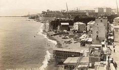 Il cantiere navale in fondo alla foce GENOVA - La Foce - FOTO STORICHE CARTOLINE ANTICHE E RICORDI DELLA LIGURIA