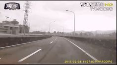 Video from a driver's dash camera captures the moment a turboprop plane on board crashes into a Taipei river. Dramatic footage shows the moment a passenger jet hits a bridge before crashing. At least 23 people have been killed in the crash of a TransAsia Airways plane in Taipei, which went down in a river shortly after take-off.