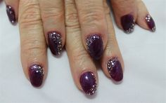 Purple Haze with Bling by ChelseasNails from Nail Art Gallery