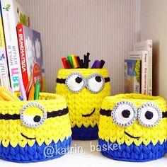 "1,520 Likes, 18 Comments - ⭐️ Всё лучшее в мире вязания❤️ (@knitted_and_crochet_ideas) on Instagram: "" @katrin_basket"""