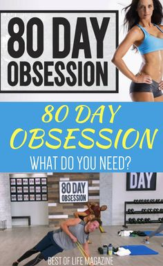 Having the necessary 80 Day Obsession equipment and supplies on hand for the 80 Day Obsession workout will help you get maximum results. Beachbody on Demand | Beachbody Workouts | 21 Day Fix Workouts | A Little Obsessed | 80 Day Obsession Beachbody | Workouts for Women | Workouts for Men | At Home Workouts