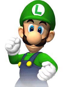 Luigi - Mario Super Sluggers