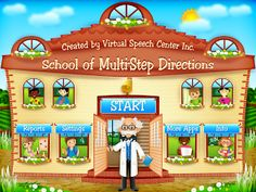 School of Multistep Directions App  - repinned by @PediaStaff – Please Visit ht.ly/63sNtfor all our pediatric therapy pins