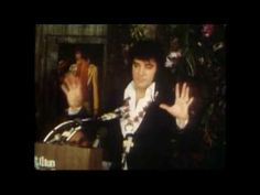 """Lots of great backstage scenes and Elvis concert footage in this segment from the 1981 documentary """"This Is Elvis. Elvis Presley Videos, Elvis Presley Family, Elvis Presley Music, Elvis Aloha From Hawaii, Elvis Sings, Famous Speeches, Bob Hope, Home Movies, Thats The Way"""