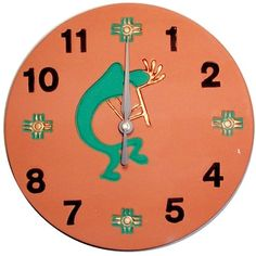 1000 Images About Southwest Wall Clocks On Pinterest